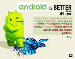 Top 25 Reasons Why Android Is Better Than iPhone in The Market 2018