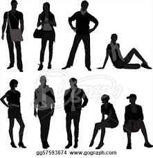 Fashion Models Clipart