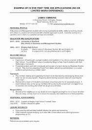 Resume Objective For University Application Original Examples Students Biology Phd Student