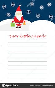 Carta Hecha A Mano De Año Nuevo A Papá Noel Con Sus Propias Manos