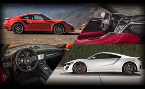 Poll Porsche 911 Turbo S or Acura NSX  AutoGuide News