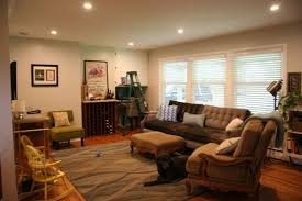 recessed lighting living room layout home ideas
