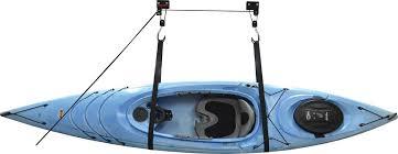 Kayak Hoist Ceiling Rack by Kayak Lift For Garage Kayak Storage Hoist Lift Pulley System The