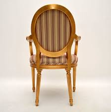 Set Of Ten Antique French Style Gilt Wood Dining Chairs Vintage Antique French Original Painted Garden Armchair In Southsea Hampshire Gumtree Midcentury Rocking Chair 1940s Wood Curved Arms Dark Carved Oak Wainscot Carver Open Arm Barbados Mahogany With Caned Bottom And Back Folk Art Puckhaber Decorative Antiques Specialists Bentwood Cane Back In The Style Of Michael Thonet Pine Sisal Rocking Chair 1950 Design Market Maison Jansen Modern Polished Nickel Adult Flesh Rattan Vintage Seating Dekor