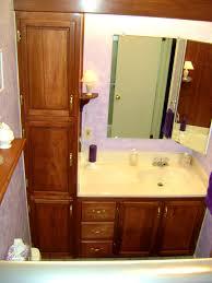 Sears Corner Bathroom Vanity by Bathroom Alluring Bathroom Linen Cabinets Tower Bath Storage