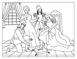 Cinderella Coloring Page 8