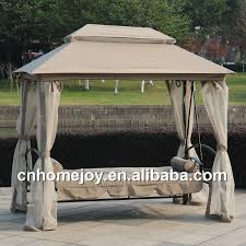 deluxe swing bed with mosquito net gazebo swing bed garden swing