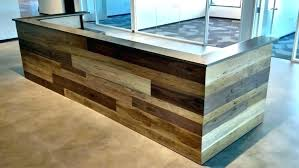 Reclaimed Wood Desk Top Office Furniture Modern Custom Curved Office Desk Left Curved Home Office Desks Curved Custom
