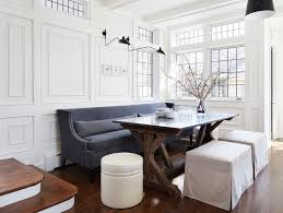 Settee Seating For Dining Room Linday Hill Interiors