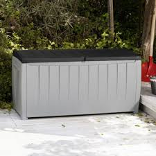 Rubbermaid Patio Storage Bench by Outdoor Storage Benches Walmart Bench Decoration