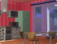 3 D Kitchen Decoration