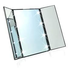 portable makeup lights – mirror