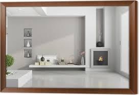 fototapete minimalist wohnzimmer mit kamin pixers wir