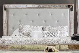 Z Gallerie Glass Dresser by Ava Bed