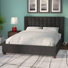 Wayfair Platform Bed by Wade Logan Littrell Upholstered Platform Bed U0026 Reviews Wayfair Ca