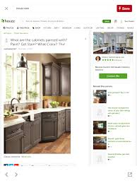 smokey hills is a stain color offered by omega cabinetry of