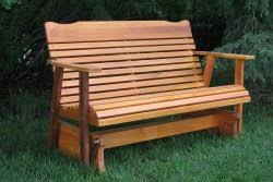 The Stained 4 Western Red Cedar Outdoor Furniture Will Comfortably Seat Two Persons This Makes It A Great Item For Your Patio Or Balcony