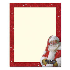 Amazon Christmas Stationery Jolly St Nick Holiday Laser and