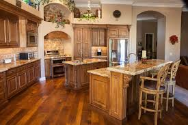 Walnut Creek Furniture for a Traditional Kitchen with a Recessed