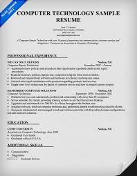 Entry Level Information Technology Resume With No Experience Beautiful