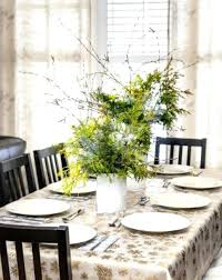 decorating dining room table for christmas ideas dinner
