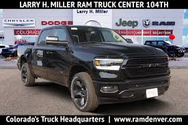 New 2018-2019 RAM Trucks Near Denver CO | RAM 1500, RAM 2500, RAM ...