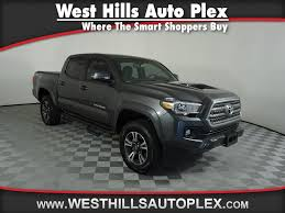 Pre-Owned 2017 Toyota Tacoma TRD SPORT Double Cab 5' Bed V6 4x4 AT ... 2018 Toyota Tundra Trd Sport Exterior And Interior Walkaround Preowned Toyota Truck Highlander Le Utility In Hollywood 2017 Tacoma Crew Cab Pickup Hiram Sport Double 5 Bed V6 4x4 At Truck Youtube Review 2015 Is Your Weekend Getaway Bestride New I Tuned Suspension Nav 4 1980 4wd 49k Original Miles Paint 2016 Offroad Vs Mishawaka Jm173303