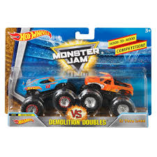 Hot Wheels Monster Jam Demolition Doubles 2-Pack (Styles May Vary ...