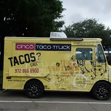 100 Truck Food Cinco Taco Dallas S Roaming Hunger