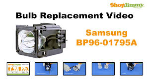 how to replace a samsung bulb in a dlp tv