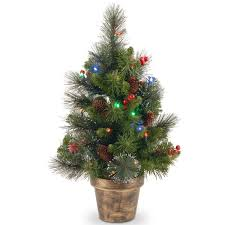 three posts spruce small 2 green artificial christmas tree with