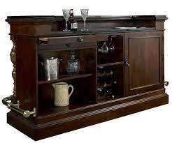 Pulaski Furniture Curio Cabinet by Carlton Manor Bar With Granite Top From Pulaski 565500 Coleman