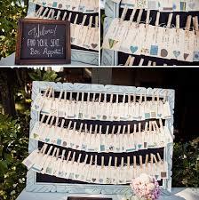 idée plan de table mariage original 55 designs faciles à imiter