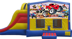 Bounce House Water Slide Comobo   Monster Truck Bounce House Jump Houses Dallas Rental Austin Rentals Introducing The Combo Water Slide Houston Sky High Party The Patriot Inflatable Whiteford Contractor Equip Powered Dump Trailers 40 Container Bounce Houses Doral Comobo Disco Dome Bouncy Castle For Sale Trex Obstacle