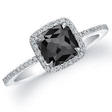 189 best BLACK DIAMOND RINGS images on Pinterest