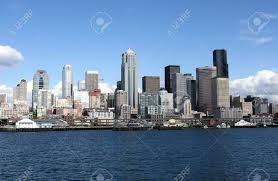 100 Beautiful Seattle Pictures Sunny Spring Day In Washington Stock Photo