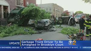 Garbage Truck Driver To Be Arraigned In Brooklyn Court « CBS New York