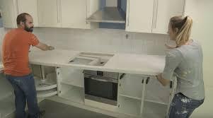 eine arbeitsplatte in der küche einbauen mein eigenheim