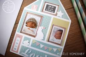 faire part naissance 5 photos idées cadeaux