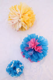 Gift Topper Pom From Plastic Bags 3 Sizes