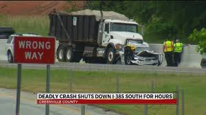 100 Dump Truck Jobs In Nc Man Killed After Dump Truck Rear Ends Car On I385 In Greenville Co