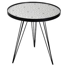 Table Top Drawing Getdrawings Free For Personal Use Black Side Round