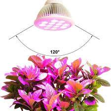 E27 24W LED Grow Light Bulb High Efficient Hydroponic Plant Grow