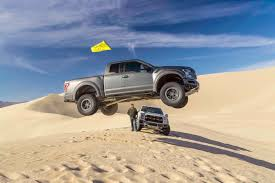 100 Truck Jump Video We A Ford F150 Raptor Over A Sand Dune With Ken Block