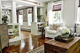 Farmhouse Living Room And Dining De