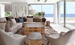 style modern villa in ibiza wohnzimmer dekor