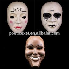 The Purge God Mask Halloween by 3 Styles Halloween Full Face Resin The Purge Cosplay Mask