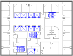 create a floor plan office support
