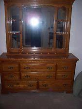 Vaughan Bassett Dresser With Mirror by Vaughan Bassett Furniture Ebay