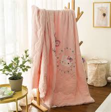 Coral Colored Bedding by Popular Hello Kitty Full Comforter Buy Cheap Hello Kitty Full